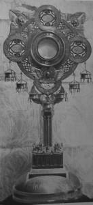 Custodia de la Ciudad. Talleres de Arte, director Félix Granda y Buylla. C. 1910.